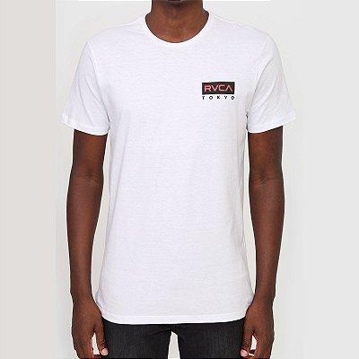 Camiseta RVCA Tokyo Masculina Branco
