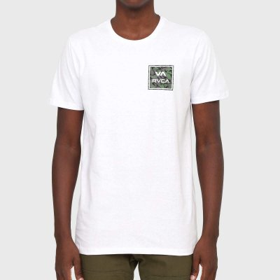Camiseta RVCA VA All The Way Masculina Branco
