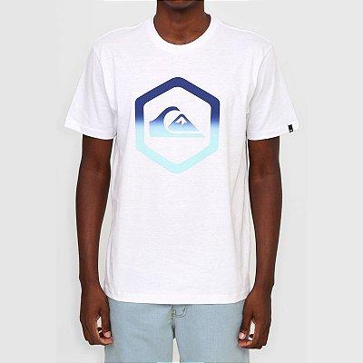 Camiseta Quiksilver Black Slab Masculina Branco