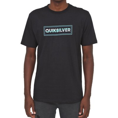 Camiseta Quiksilver Final Comp Masculina Preto