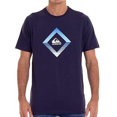 Camiseta Quiksilver Tropics Masculina Azul Marinho