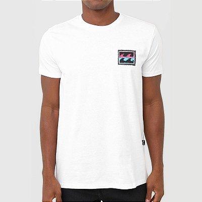 Camiseta Billabong Nosara Masculina Branco