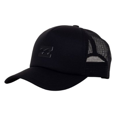 Boné Billabong Aba Curva All Day Trucker Preto