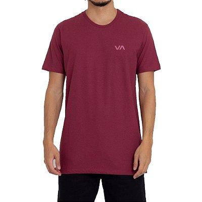 Camiseta RVCA VA Masculina Vermelho