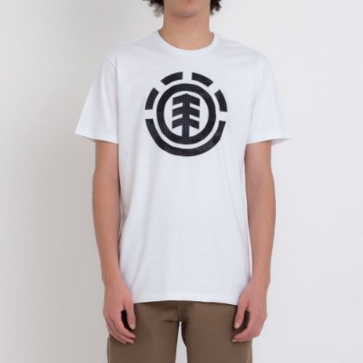 Camiseta Element Resist Icon Fill Masculina Branco