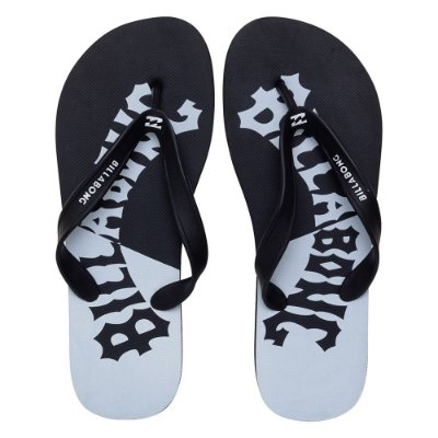 Chinelo Billabong Arch Wave Preto/Branco