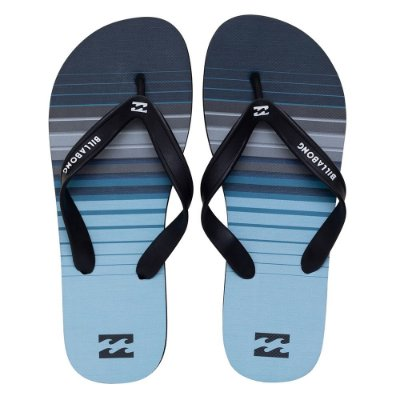 Chinelo Billabong Stripe Blue Azul Claro