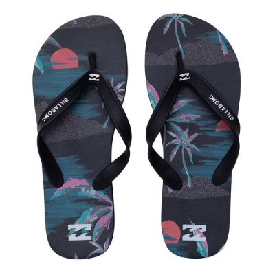 Chinelo Billabong T Street Night Preto