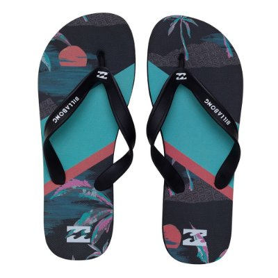 Chinelo Billabong Airlite Night Preto