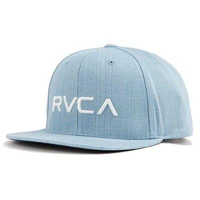Boné RVCA Snap RVCA III Azul Claro