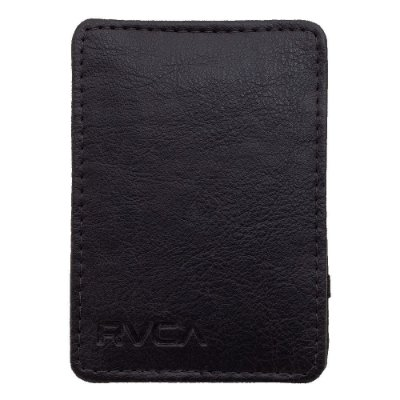 Carteira RVCA Magic Leather Masculina Preto