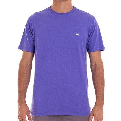 Camiseta Quiksilver Embroidery Masculina Roxo