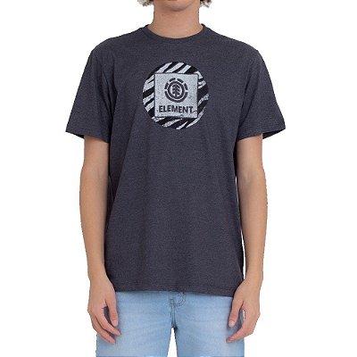 Camiseta Element Solarium Masculina Cinza Escuro