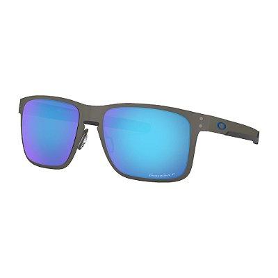 Óculos de Sol Oakley Holbrook Metal Matte Gunmetal W/ Prizm Sapphire Polarized