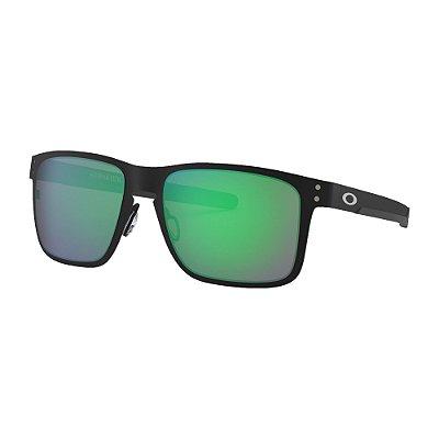 Óculos de Sol Oakley Holbrook Metal Matte Black W/ Jade Iridium