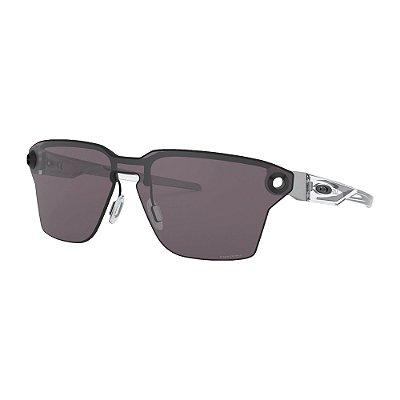 Óculos de Sol Oakley Lugplate Satin Black W/ Prizm Grey