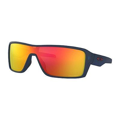 Óculos de Sol Oakley Ridgeline Matte Translucent Blue W/ Prizm Ruby