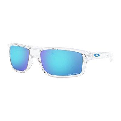 Óculos de Sol Oakley Gibston Polished Clear W/ Prizm Sapphire