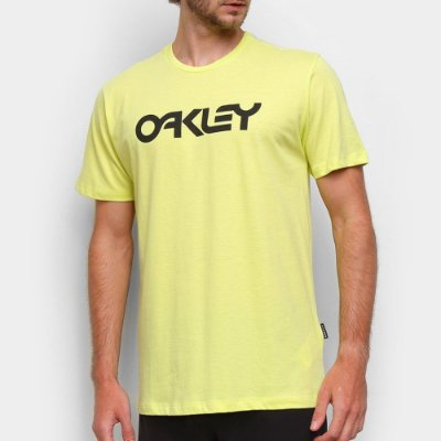 Camiseta Oakley Mark II Masculina Amarelo Neon