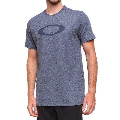 Camiseta Oakley O-Ellipse Masculina Azul Marinho