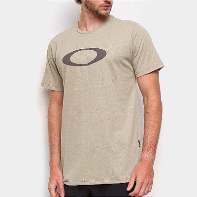 Camiseta Oakley O-Ellipse Masculina Bege