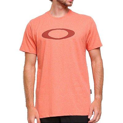 Camiseta Oakley O-Ellipse Masculina Laranja