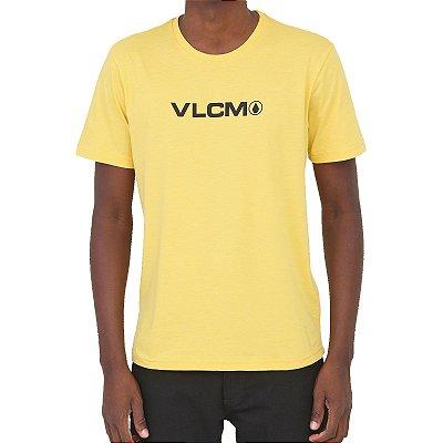 Camiseta Volcom Removed Masculina Amarelo