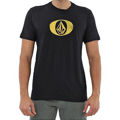 Camiseta Volcom Eliptical Masculina Preto
