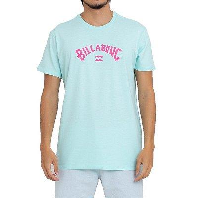 Camiseta Billabong Arch Wave Masculina Verde