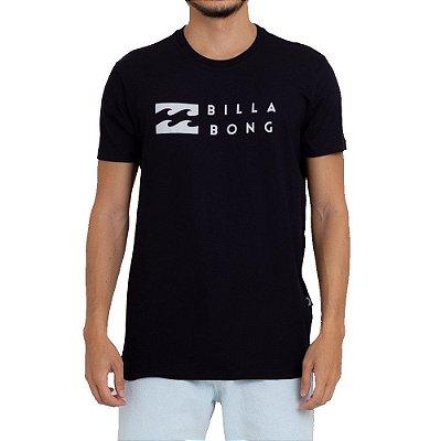 Camiseta Billabong United Masculina Preto