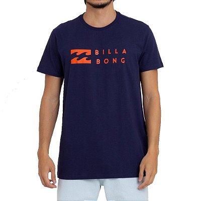 Camiseta Billabong United Masculina Azul Marinho