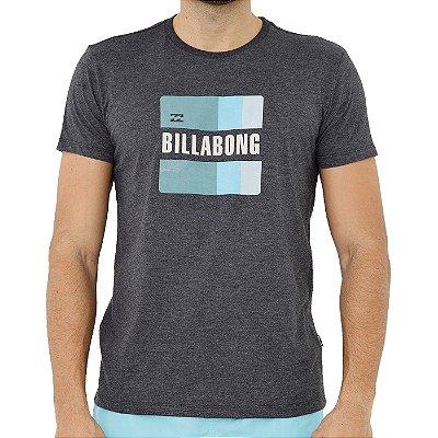 Camiseta Billabong Prism Masculina Cinza Escuro