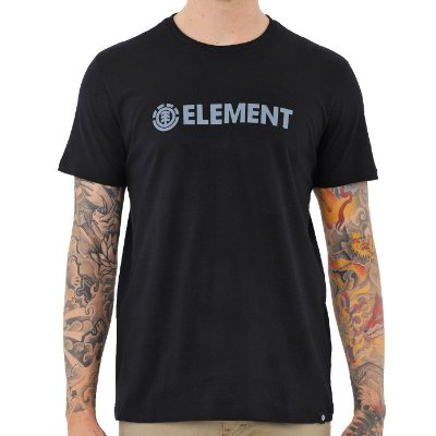 Camiseta Element Blazin Preto