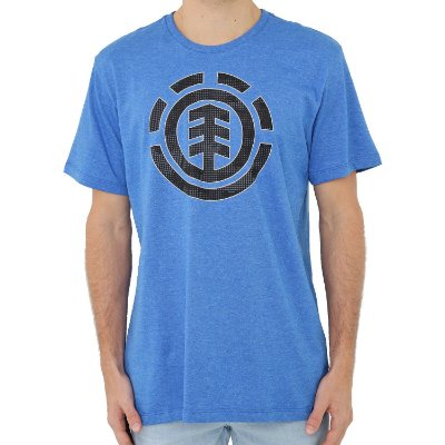 Camiseta Element Resist Icon Fill Masculina Azul