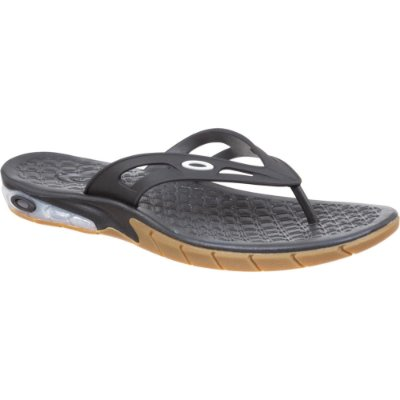 Chinelo Oakley Killer Point Masculino Preto/Marrom