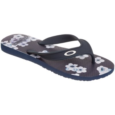 Chinelo Oakley Wave Point Sakura Masculino Azul Marinho