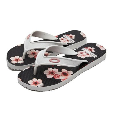 Chinelo Oakley Wave Point Sakura Masculino Branco