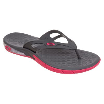 Chinelo Oakley Killer Point Masculino Preto/Rosa