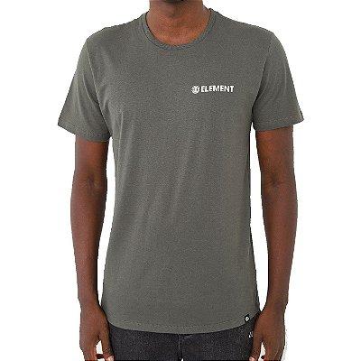 Camiseta Element Blazin Chest Masculina Verde