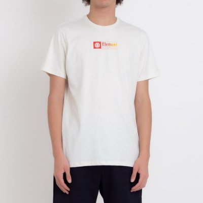 Camiseta Element Section Yellow Red Masculina Off White
