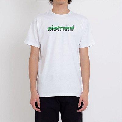 Camiseta Element Proton Capsule Masculina Branco