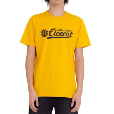 Camiseta Element Signature Masculina Amarelo