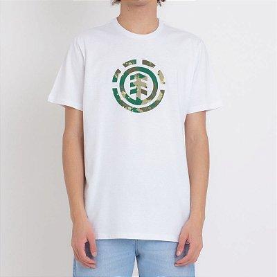 Camiseta Element Water Camo Icon Fill Masculina Branco
