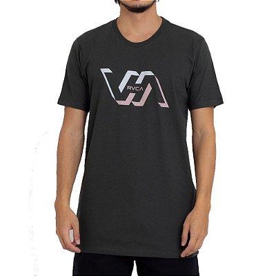 Camiseta RVCA Facets Masculina Verde