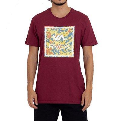 Camiseta RVCA VA All Masculina Vermelho