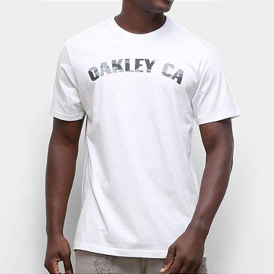 Camiseta Oakley O-Classic Camo SS Masculina Branco