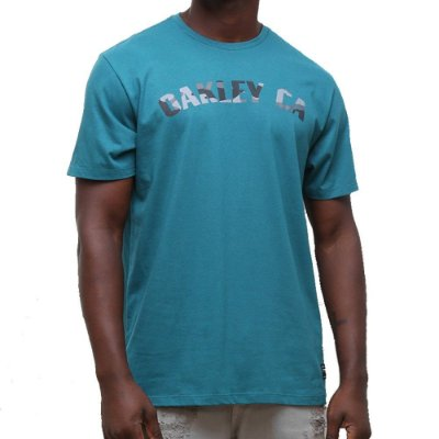 Camiseta Oakley O-Classic Camo SS Masculina Verde
