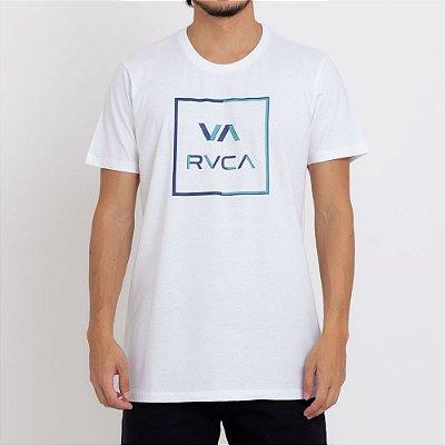 Camiseta RVCA Circuit Masculina Branco