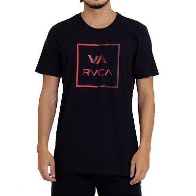 Camiseta RVCA Circuit Masculina Preto