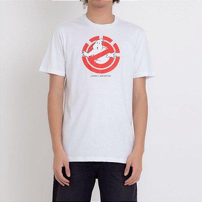 Camiseta Element Ghostly Masculina Branco